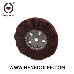 Non Woven Polishing Flap Wheel (Brown Colour) pictures & photos
