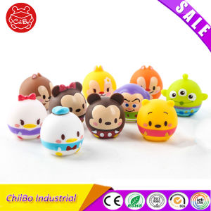 Round Lovely Plastic Cartoon Figure Toys as Gifts pictures & photos