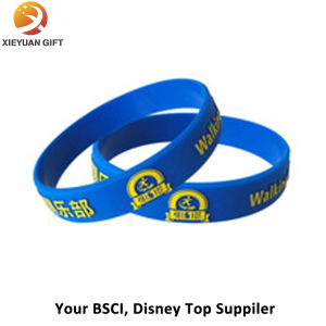 Custom Scented Printing Logo Silicone Wristbands pictures & photos