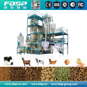 CE ISO SGS Certificated 5t/H Small Feed Mill Plant (SKJZ5800) pictures & photos