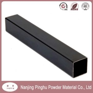 Non-Toxic Ral 9005 Matt Black Epoxy Polyester Resin Powder Coating pictures & photos