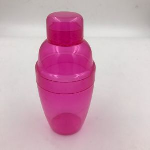 Colorful Round Shaped Plastic Tumbler with Straw for Hot pictures & photos