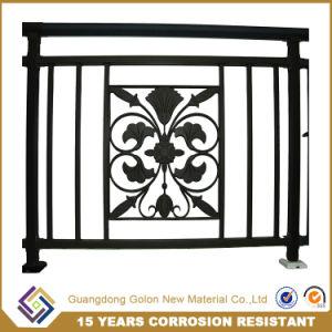 Security No Welding Galvanized Steel Bronze-Coloured Tubular Balcony Railing pictures & photos
