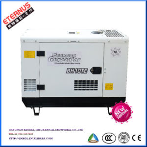 Movable Home-Using Three Phase 5kw Silent Gasoline Generator BHT7000te pictures & photos