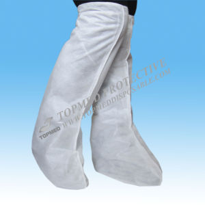 Disposable SBPP Boot Cover with Elastic, Nonwoven Boot Cover pictures & photos