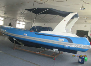 Liya Luxury Rib Boats Hypalon Inflatable Boat in Yacht China pictures & photos