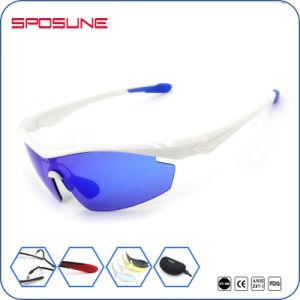 UV400 Shatterproof Lens Flexible Frame Comfortable Fit Unisex Road Bike Sunglasses pictures & photos