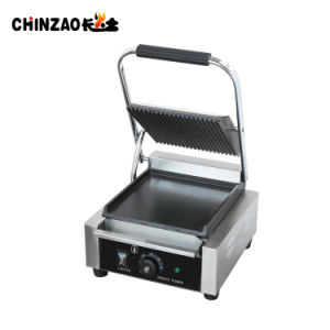 Single Comemrcial Electric Panini Press and Contact Grill pictures & photos
