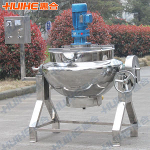 Scrapping Agitator Electric Jacketed Cooking Kettle pictures & photos