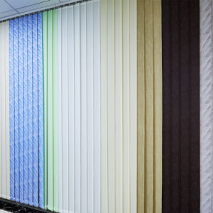 Manual Cheap Fabric Vertical Blinds for Vertical Window Coverings pictures & photos