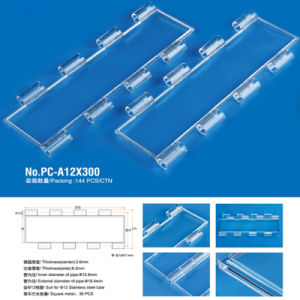 Crystal Rolling Shutter Doors / Poly Carbonate Roller Shutter Slices pictures & photos