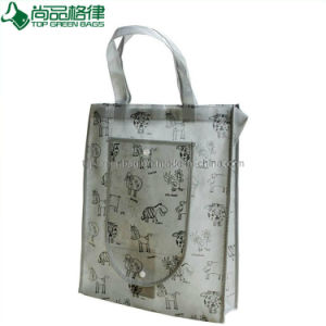 Laminated Non-Woven Foldable Shopping Bag Lamination Folding Tote pictures & photos