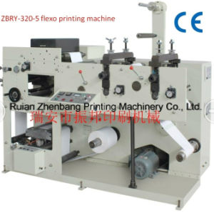 One Color Printing Machine with Die Cutting Station pictures & photos