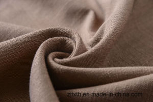 Polyester Linen Imitation Upholstery Fabric pictures & photos