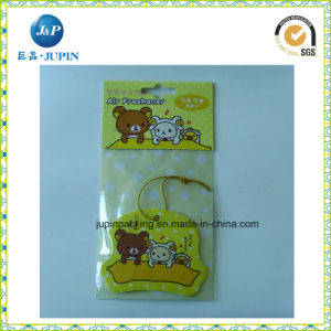 Custom Logo Design Paper Car Air Fresher (JP-AR012) pictures & photos