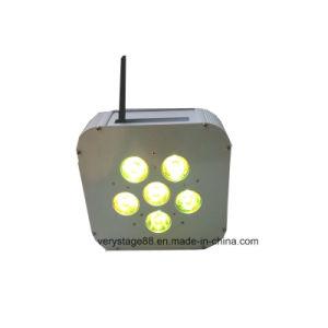 2016 Hot Sale LED Flat PAR Wireless Battery Lighting pictures & photos