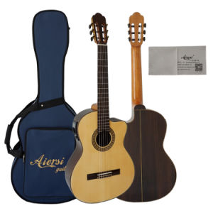 Fast Delivery Top Solid Classical Guitar with Discount pictures & photos