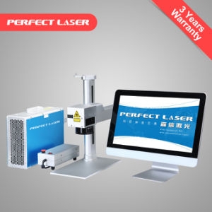 Pedb-100 Mini Portable Fiber Laser Marking Machine for Metal pictures & photos