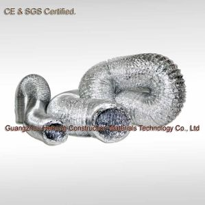 Non-Insulated Flexible Aluminum Foil Ventilation Duct pictures & photos