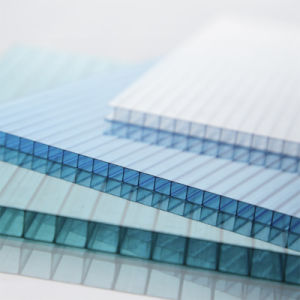 UV-Protected Twin-Wall Polycarbonate Sheet pictures & photos