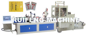 Automatic Plastic Zipper Lock Bag Making Machine (RFZD-900) pictures & photos