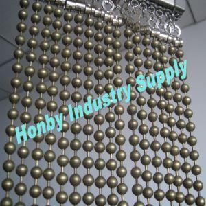 decorative 8mm antique bronze ball chain curtain wall n30423c - Decorative Chain