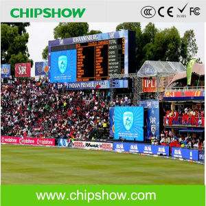 Chipshow Football Banner LED Display P10 Perimeter Shape LED Display pictures & photos