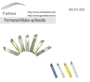 Permanent Tattoo Needle Blade pictures & photos