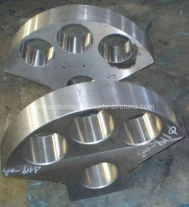 Precision Machined Cast Steel Fan Block