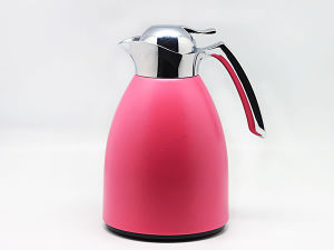 304 Stainless Steel Vacuum Coffee Pot/Kettle with Glass Refill pictures & photos