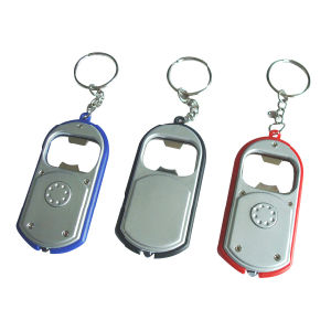 Promotional Gifts LED Torch Keylight Bottle Opener pictures & photos