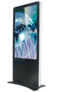 42′′ Display Ads LCD TV with Totem Advertising