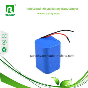 14.8V 2600mAh 4s1p Li-ion Battery Pack for Medical Patient Monitor
