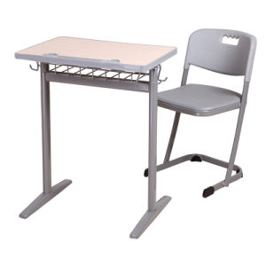 New Type Wooden Metal School Use Student Desk and Chair pictures & photos