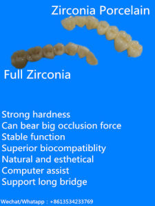 Dental Products of Zirconia Produced in China Dental Laboratory pictures & photos