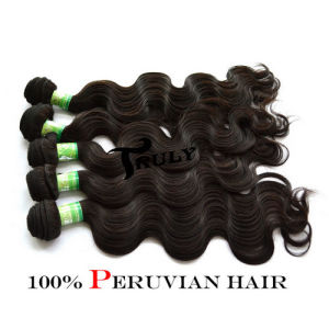 "100% Peruvian Remy Virgin Human Hair Extension, Body Wave, 12""-30"", Natural Color"