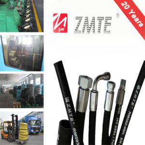 SAE 100r2at Hydraulic Rubber Fuel Pressure Hose pictures & photos