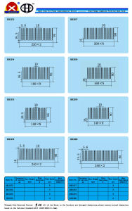 Aluminum Profile Heat Sink for Switching Power Supply pictures & photos