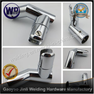 Shower Round Tube Support Bar Bracket Wt-6615 pictures & photos