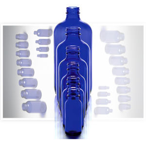 Cobalt Bule Bottle (5ml-200ml) pictures & photos