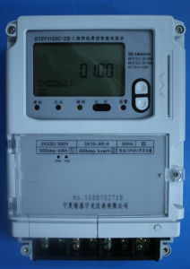 Three Phase Four Wire Multi-Function Electronic Smart Meter