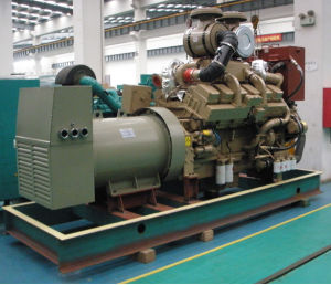Cummins Engine Marine Diesel Generators with Sea Water Exchanger pictures & photos