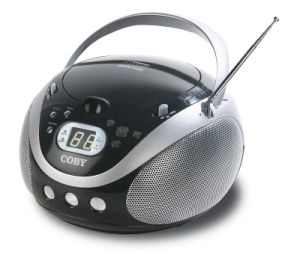 Portable CD Player with AM/FM Stereo Tuner (CX-CD241)