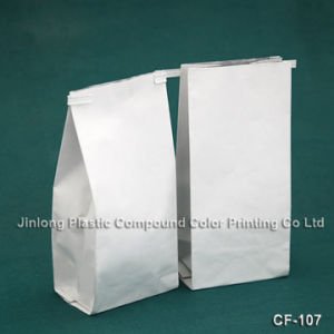 Side Gusset Paper Packaging Bag with Tin-Tie pictures & photos