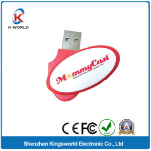 Promotional 2GB Plastic Swivel USB Memory Stick pictures & photos