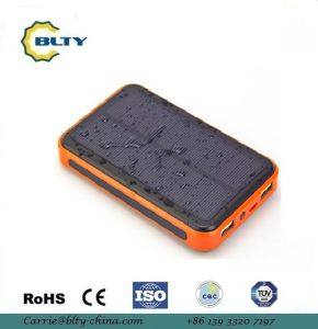 10000mAh Solar Power Bank Solar Charger for Mobilephone pictures & photos