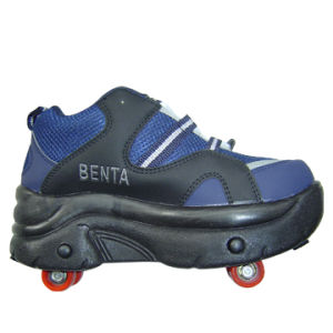 4-Wheel Flying Roller Skate Shoes (B15115) pictures & photos