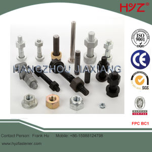 Grade 8.8 or 10.9 Alloy Steel High Strength Bolts pictures & photos