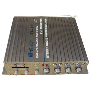 Car Amplifier (TL-V9) DC12V 2 Channel Amplifier pictures & photos