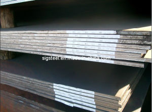 Hot Rolled Steel Plate/Sheet (Q195, Q235, SS400, A36, Q345B) pictures & photos